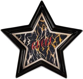 Gucci Logo-Print Star Tray