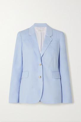 Gabriela Hearst Sophie Cotton-corduroy Blazer - Light blue