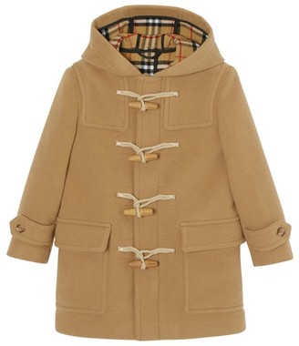 BURBERRY KIDS Wool Duffle Coat (3-12 Years)