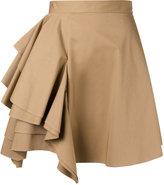 MSGM ruffled front skirt