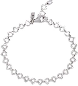 Ef Collection Diamond Teardrop Bracelet