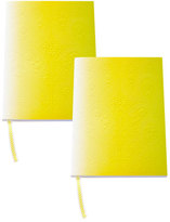 Christian Lacroix B5 Neon Yellow Paseo Notebooks, Set of 2