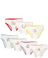 Stella McCartney embroidered briefs set