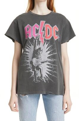 MadeWorn Women's AC/DC Graphic Tee
