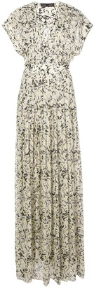 Proenza Schouler Printed Maxi Dress