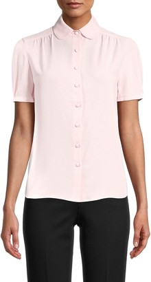 Anne Klein Peter Pan Collar Top