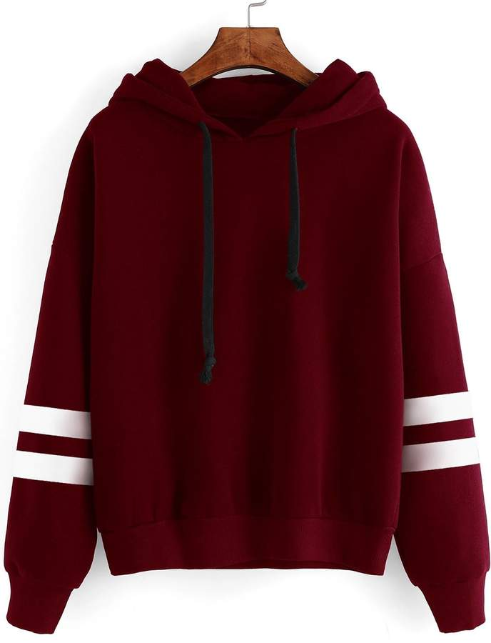 d14855a842 Varsity Stripe Sweatshirt - ShopStyle