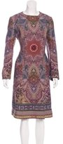 Etro Printed Long Coat w/ Tags