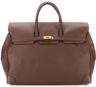 Eleventy Large Foldover-Top Holdall