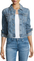 AG Adriano Goldschmied Robyn 12 Years Sunrise Cropped Denim Jacket, Indigo