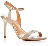 Halston Women's Whitney Leather High Heel Sandals