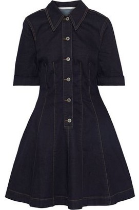Stella McCartney Isabella Flared Denim Mini Dress