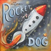 The Well Appointed House Rocket Dog Limited Edition Painting-Available in Two Different Sizes