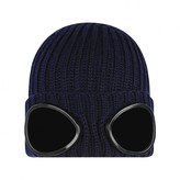 C.P. Company C.P. CompanyBoys Navy Knitted Goggle Hat