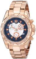 Brillier Women's 14-05 Analog Display Swiss Quartz Rose Gold Watch