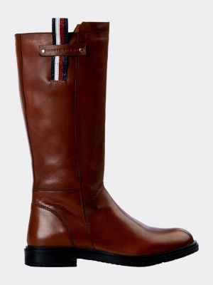 Tommy Hilfiger Signature Loop Leather Boots