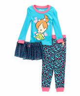 Intimo Flintstones Pebbles Tutu Pajama Set - Infant & Toddler