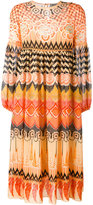 Temperley London 'Prophecy' print midi dress - women - Silk/Polyester - 10
