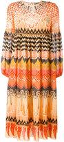 Temperley London 'Prophecy' print midi dress - women - Silk/Polyester - 14