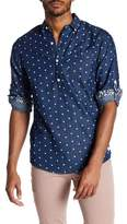 Report Collection Denim Dot Slim Fit Shirt