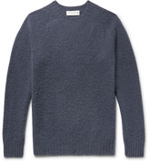 Officine Generale - Slim-fit Brushed Virgin Wool Sweater