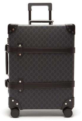 Gucci X Globe Trotter Gg-print Carry Case - Black
