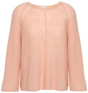 By Malene Birger Melange Ribbed-knit Sweater