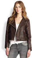 The Soho Biker Faux Leather Jacket
