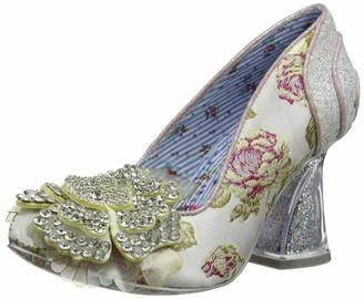 Irregular Choice Women Flower Fountain Wedding Shoes