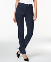 Style&Co. Style & Co. Tummy-Control Slim-Leg Pants, Only at Macy's
