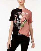Polly & Esther Juniors' Cotton Split Graphic T-Shirt