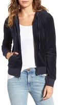 Juicy Couture Women's Robertson Velour Hoodie