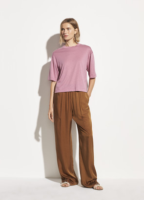 Vince Wide Sleeve Crop Tee