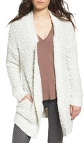Sun & Shadow Shaggy Knit Cardigan