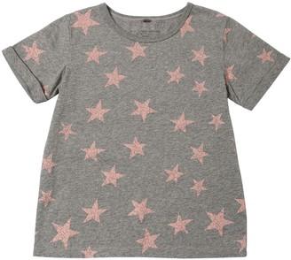Stella McCartney Star Print Cotton Jersey T-shirt