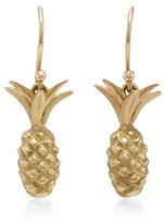 Annette Ferdinandsen 18K Gold Small Pineapple Earrings