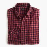 J.Crew Slim brushed twill shirt in fisherman's plaid