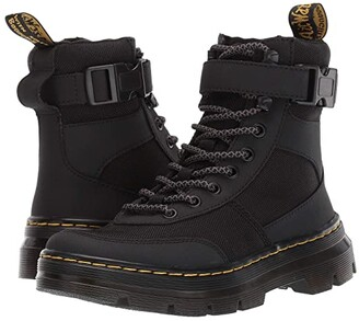 Dr. Martens Combs Tech Tract (Black Extra Tough Nylon/Ajax) Boots