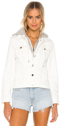 Blank NYC Denim Jacket. - size L (also