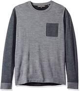 Slate & Stone Men's Jackson Colorblock Crew Neck Sweater