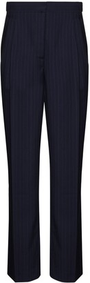 By Any Other Name Pinstripe Straight-Leg Trousers