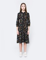 Button Down Floral Dress