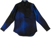 Dior Homme Blue Silk Shirts