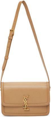 Saint Laurent Tan Medium Solferino Bag