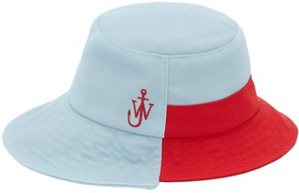J.W.Anderson Asymmetric Recycled Polyester Bucket Hat