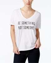 Original Retro Brand Be Something Graphic Boyfriend T-Shirt