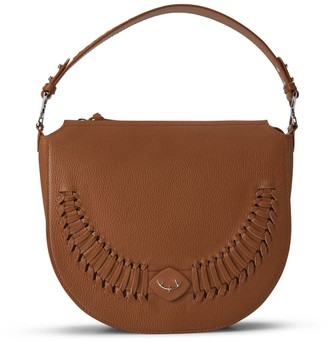 River Shoulderbag Crossbody Backpack Personalizable In Lion Brown