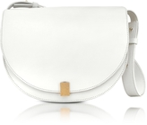 Victoria Beckham White Half Moon Box Shoulder Bag