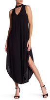 Just For Wraps Ity Halter Maxi Dress