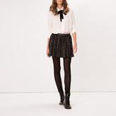 Maje Sequinned miniskirt